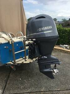 YAMAHA 115 HP F115LB 2014  4 STROKE OUTBOARD Daleys Point Gosford Area Preview