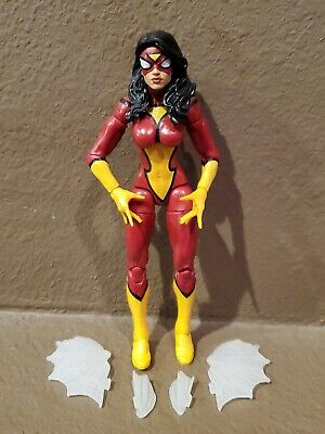 "Hasbro Marvel Legends Spider-Woman Thanos BAF Wave 6"" Figure Spiderman"