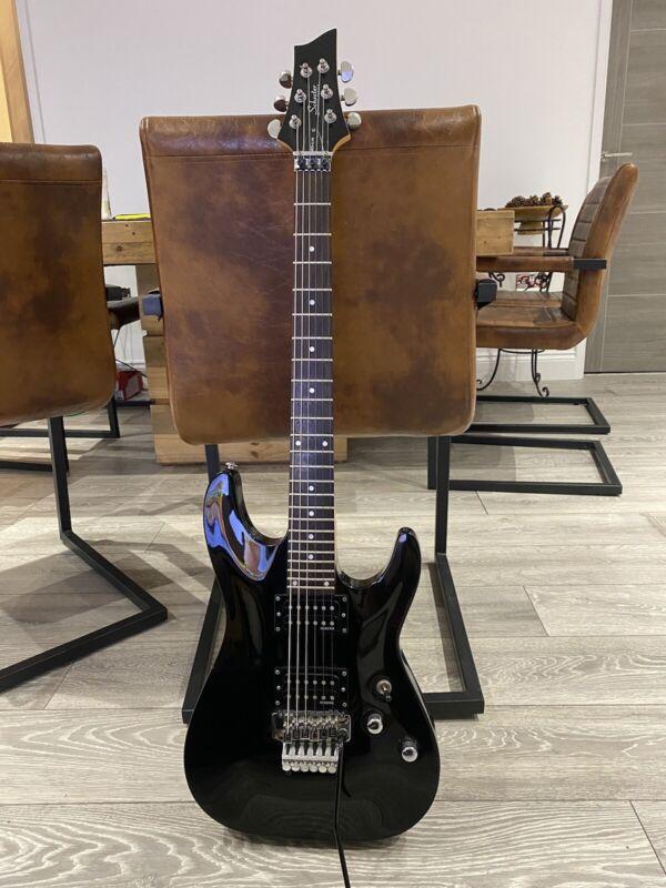Schecter Diamond Series Electric Guitar Omen - 6 FR Black