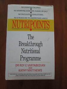 Nutirpoints - The Breakthrough Nutritional Programme - Hard Cover Windsor Hawkesbury Area Preview