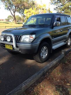 Toyota Prado  1998   Auto   Excellent condition   1 year rego