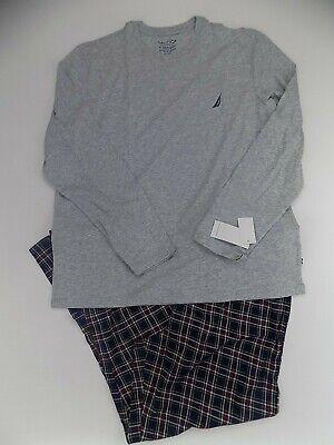 Men's Nautica sleepwear pj set long sleeve Medium pajamas