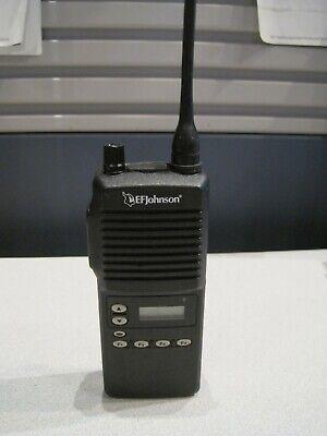 Ef Johnson Uhf 440-470 Mhz 4 Watts 242-7540 Two Way Radio Wbatt