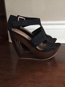 """Wedge shoes """"SPRING"""" size 7,5"""
