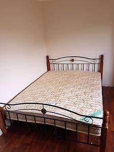 Moving Sale ASAP: Queen Bed & Mattress Hurstville Hurstville Area Preview