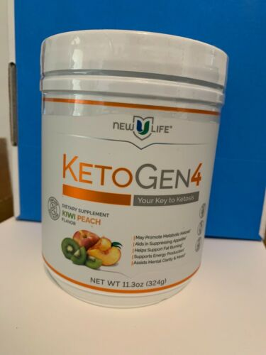 NewULife New U Life KETOGEN4 Kiwi Peach Flavor Keto Ketosis