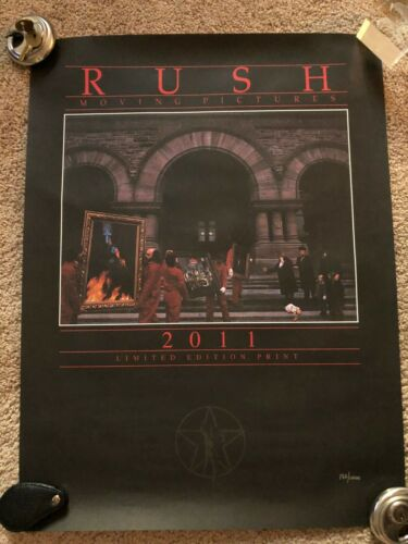 RUSH Moving Pictures Limited Edition Print  Poster Original 132/1000