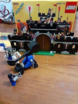 Lego Knight's Stronghold 6059 Vintage Legoland Castle w box and instructions