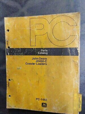 John Deere Jd450-c Crawler Loaders Parts Catalog