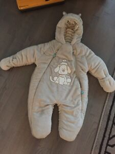 3-6 months baby winter suit