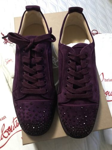 new style 48099 a59d8 Christian Louboutin Louis Junior Degra Flat Size 41.5 Brand New