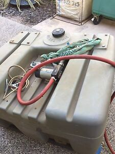 Diesel 400ltr tank with pump hose and cradle Bakewell Palmerston Area Preview