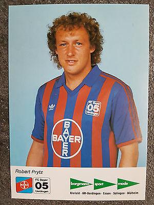 AK o.Orig.AG Robert Prytz Bayer 05 Uerdingen Saison 87/88