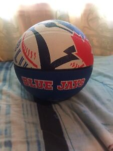 Authentic Blue Jays basketball (one of a kind)
