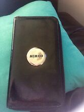 QUICK SALE* MIMCO loves patent and silver black travel wallet Green Point 2251 Gosford Area Preview