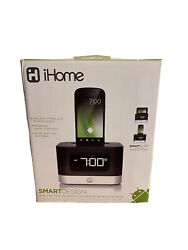 iHome iC50 FM Stereo Alarm Clock Radio Dock for Android Smartphone USB Charging
