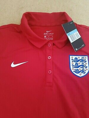 Nike polo t shirt 2019 England Training Dri Fit size L