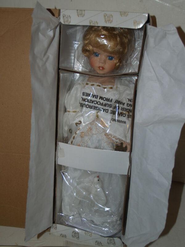 Heritage Signature Collection Porcelain Doll-Grace-Angel-Millennium Edition