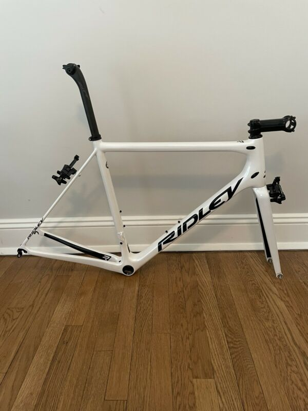 Ridley Helium SLX Custom Paint Frameset M 56 Plus Extras Carbon Road Bike Frame