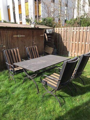 Gartentisch Metalltisch Gartenmöbel Tisch ROMEO 75x125cm von MBM wetterfest