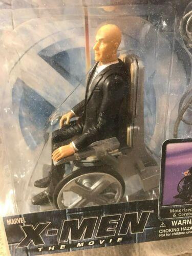 MARVEL X-MEN PROFESSOR X CLEAR VARIANT MOVIE FIGURE PATRICK STEWART MOC by Marvel