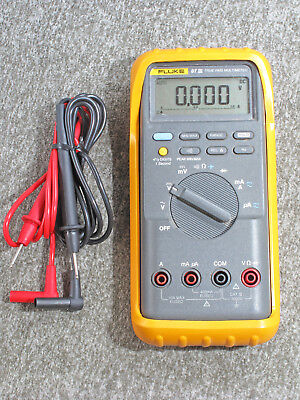 Fluke 87iii Digital Multimeter Read Issue About Turning On