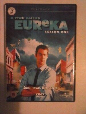 A Town Call Eureka - Season 1 (3 x DVD set) for sale  Chesham