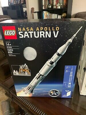 LEGO 21309 Ideas NASA Apollo Saturn V NIB