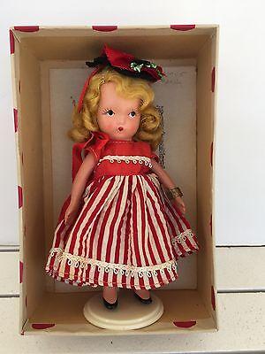 Vintage Bisque Nancy Ann Storybook Doll Alice Sweet Alice Original w/box