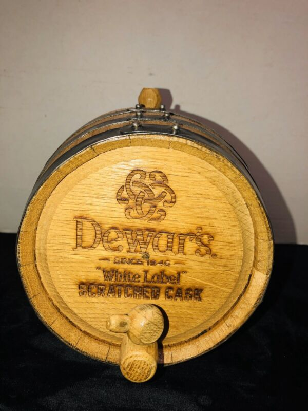 Dewar's Mini Whiskey Barrel