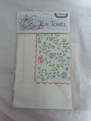 Johnson Brothers Summer Chintz tea towel BNIB