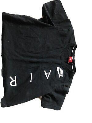 Nike Air Black Crop Top Size M