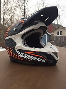 Scorpion motocross helmet! NEVER WORN!!