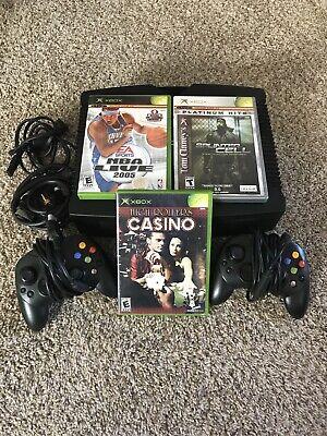 Microsoft Xbox Original Console Games Controllers