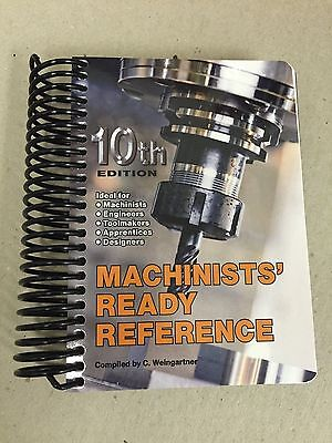 Machinists Ready Reference 10th Edition