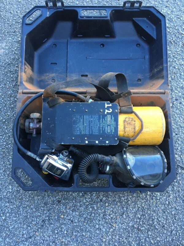 Scott Air-Pak 2  W/Mask, Tank, Backpack, Regulator & Case