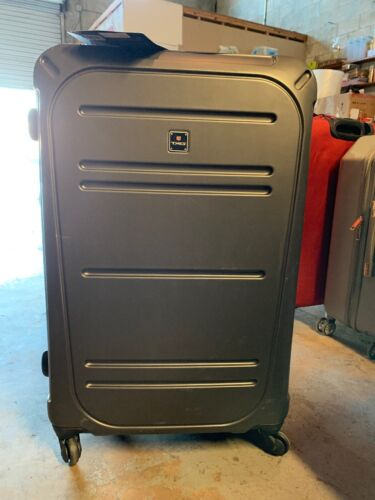 New TAG VECTOR II 3 PIECE HARDSIDE SPINNER LUGGAGE SET CHARC