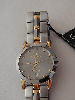 Essence ES 20054 CM Men's Bracelet Watch Sapphire Crystal Water Resistant 3 - Water Resistant Sapphire Crystal Watch