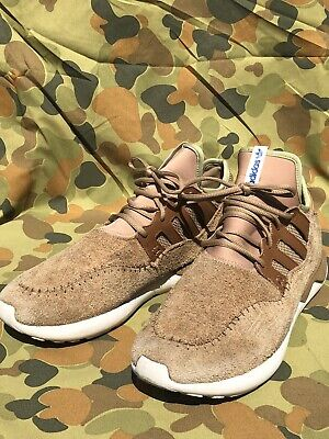 Adidas Tubular Moc Runner Brown Flax  UK 12