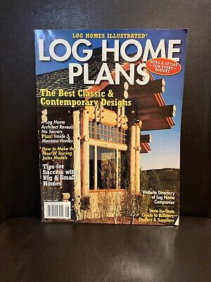 Log Home Plans: The Best Classic And Contemporary Design (Best Log Home Plans)