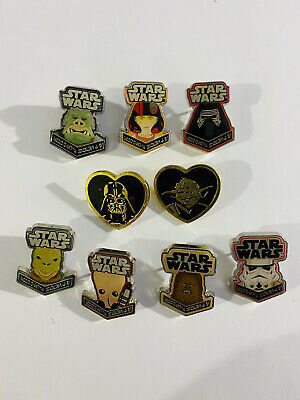 Star Wars Smuggler's Bounty Box Pins Exclusive Bossk Kylo Ren Chewbacca Funko