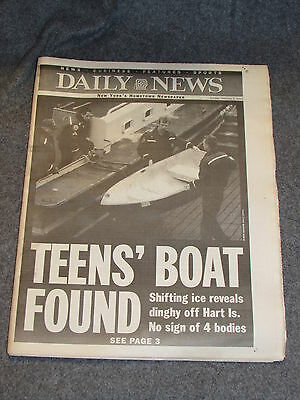 New York Daily News Feb 3 2003 Full Newspaper James Dolan Cantor Fitzgerald