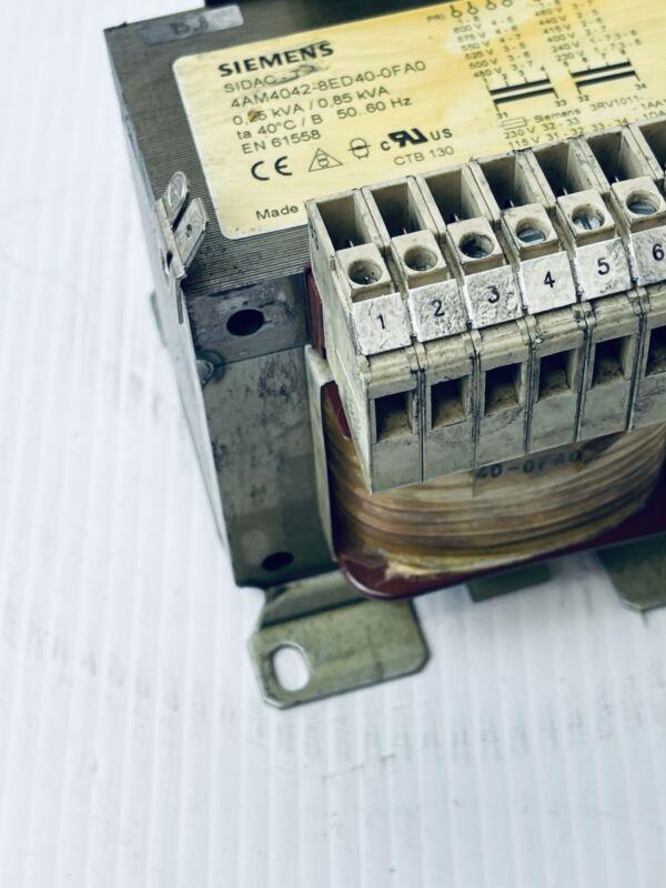 Siemens SIDAC-T Transformer 4AM4042-8ED40-OFA0