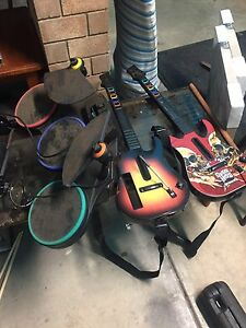 Guitar hero accessories for wii Largs North Port Adelaide Area Preview
