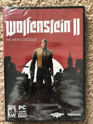 Clearance New Wolfenstein II 2 The New Colossus limited stock available