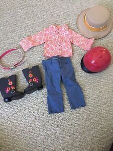 "American Girl ""Saige"" riding outfit"