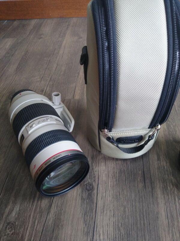 Canon Zoom Lens EF 70-200mm 1:2.8 L Ultrasonic - Japan