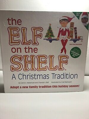 Girl Elf on The Shelf Christmas Tradition Doll Book Box Blue Eye *NEW Open Box*