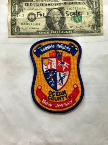 Seaside Heights New Jersey Police Patch un-sewn Great Shape