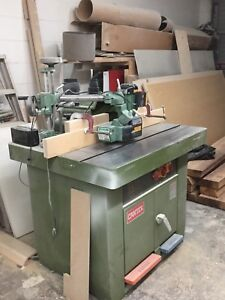 7.5 HP Shaper - Excellent condition.